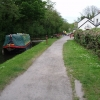 Canal boat at Open Hearth