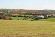 Trenoweth Farm and fields