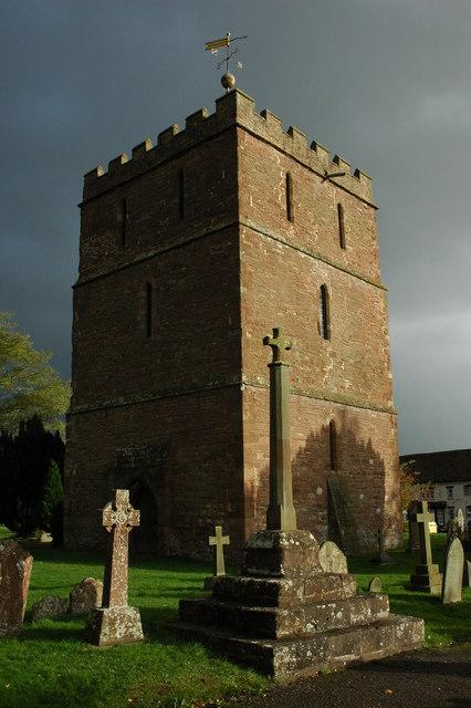 Tower of Bosbury Church