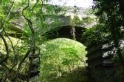 Road bridge crossing the Cheltenham to Banbury line on the Hampen road