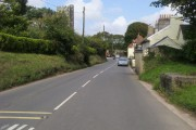 A379 entering Churchstow