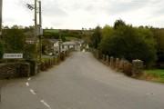 Approaching Taddiport from Torrington