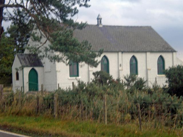 Evelix, Free Presbyterian Church from A9
