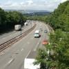 M4 motorway, St Julians