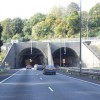 Brynglas tunnels on the M4