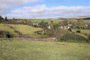 Farmland around Hexworthy