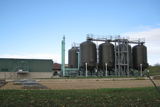 Part of water treatment works, Campion Hills