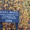 Banwy Bridge Sign