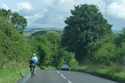 A488 descending Colstey Bank