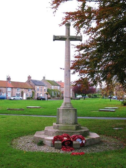 War memorial, Catterick