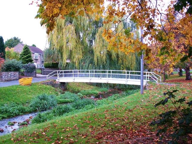 Bridge over the beck, Catterick
