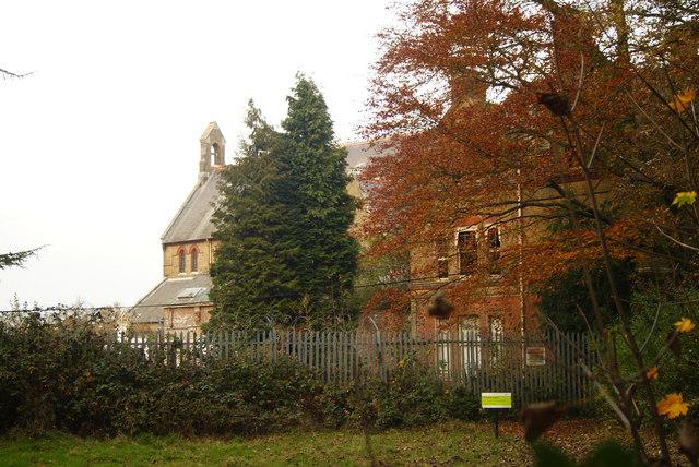 Chapel at Cane Hill Asylum