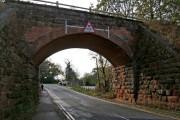 Disused railway bridge, Wilden Lane, Stourport-on-Severn