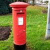 George V postbox, St Julians, Newport