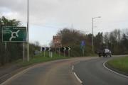 Approaching The Bewdley Bypass