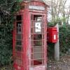 Decommissioned K6 telephone box