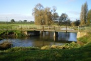 Vehicular bridge south of Amington Hall Farm