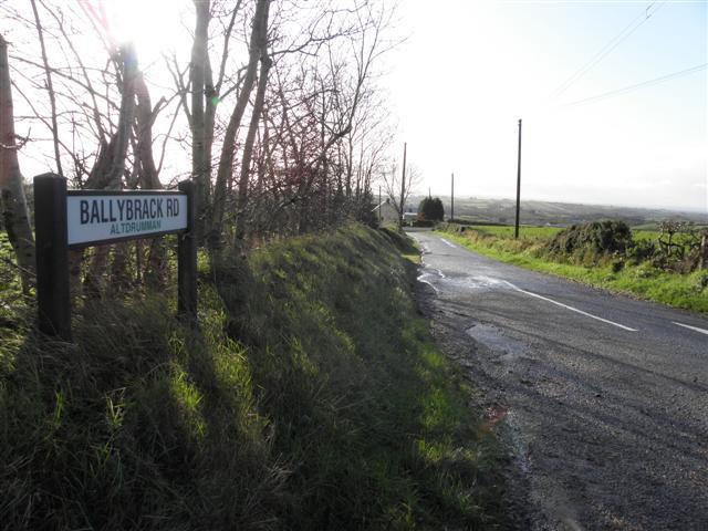 Ballybrack Road, Altdrumman