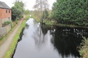 Montgomery canal from A483 bridge