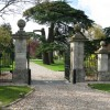 Entrance to Down Ampney House