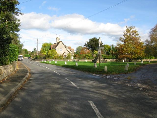 Road into Down Ampney