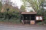 Bus shelter, Warwick Road, Leek Wootton