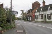 Junction of Warwick Road and Woodcote Lane, Leek Wootton