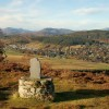 Strathpeffer from the ridge to Knockfarrel