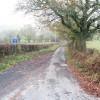 Track to farm off B4382