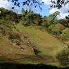 Steep Hillside Below Easton
