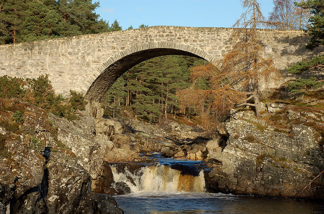 General Caulfeild's bridge over the Black Water, Little Garve