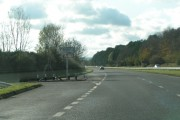 Turning to Woodland and Denbury on the west-bound A38