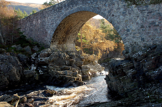The old bridge at Little Garve