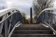 Bridge over the canal to the Etruria Industrial Museum