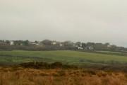 Meddon viewed across Woolley Moor