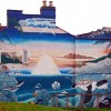 Mural on Rushmore Street, Leamington Spa