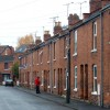 Terraced houses in Rushmore Street, Leamington Spa