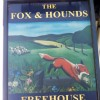 Sign for the Fox and Hounds