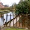 Overspill weir, Grand Union Canal near Sydenham estate