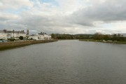 Upstream from the old bridge at Barnstaple