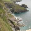 Cornish coast from above Crookmoyle Rock