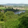 A view from the top of Brynglas, Newport