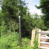 Start of the Usk Valley Walk