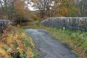 The old Skeabost Bridge