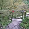 Wheelchair-friendly kissing gate