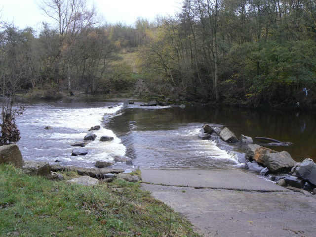 Weir at Witton Park