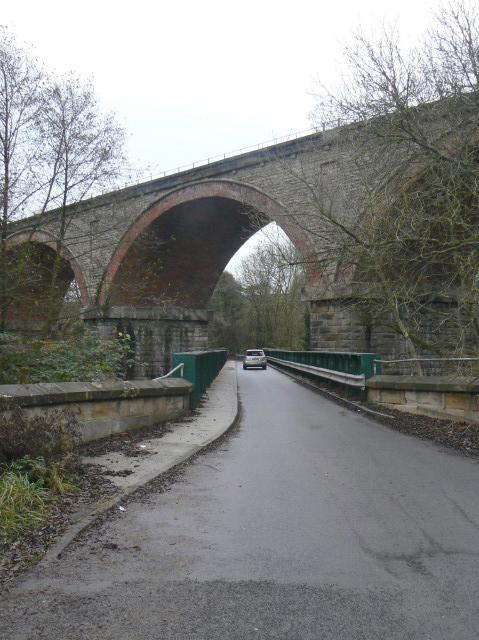 Witton Park viaduct