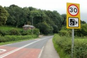 Caerleon Road heading for Newport