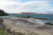 Beach adjacent to Camas Ban