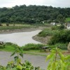 River and woods view, Caerleon